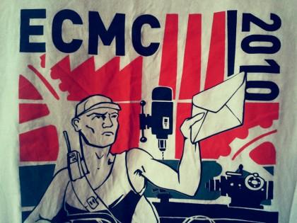 Koszulka z ECMC 2010 Budapeszt!