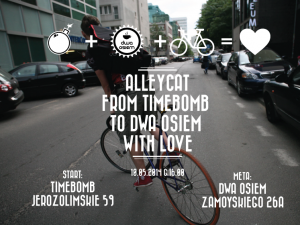ALLEYCAT: from //TIMEBOMB to DWA OSIEM with LOVE